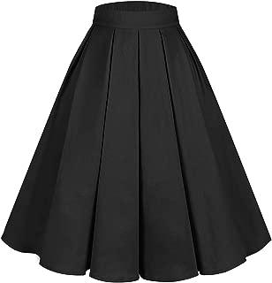 Best vintage pleated skirt Reviews