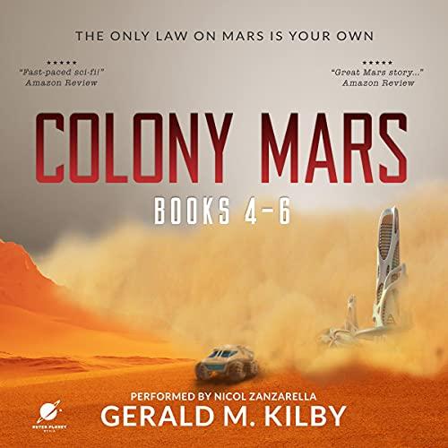 Colony Mars, Books 4-6 cover art
