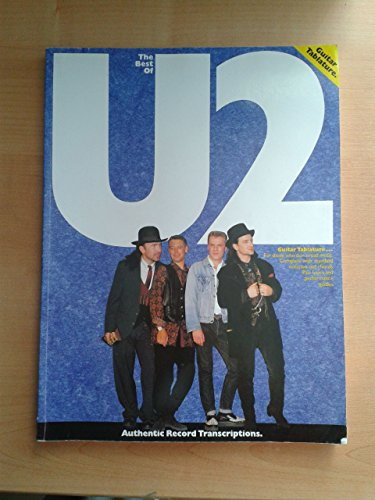 The Best Of U2. Sheet Music for Guitar Tab, Bass Guitar Tab, with chord symbols