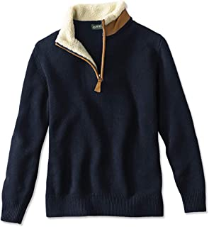 Men's Stowe Quarter-Zip Sweater