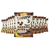 Dark Chocolate Dipped Banana Bites: These chewy, tasty bites of dark chocolate and banana are the perfect way to enjoy this delicious combination; Bulk snack pack includes 12 bags Healthy Snacks: With no sugar added, these naturally sweet vegan snack...