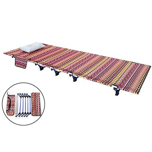 Chinese Nationale Stijl Portable Ultra Stevige Wasbaar En Tear-Proof Folding Camping Kinderbedjes Slapen Bed, Outdoor Activiteit Gewicht Capaciteit: 150Kg (330Lb)