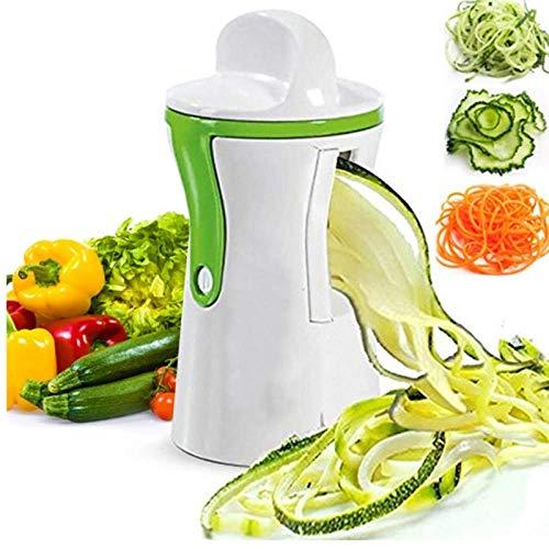 BBGSFDC Trancheuse de Spirale Trancheuse de légumes Coupe-légumes trancheuse de Poche en Spirale végétale Compact