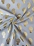 Die Stoffprinzessin Jersey Stoff Löwe gold grau ab 50 cm