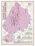 Carte des vins de Saint-Emilion