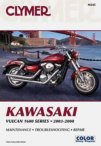 Kawasaki Vulcan 1600 Series Motorcycle (2003-2008) Service Repair Manual