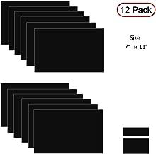 Xlnt Engraving Double Color Laser Sheet, Black/White (7