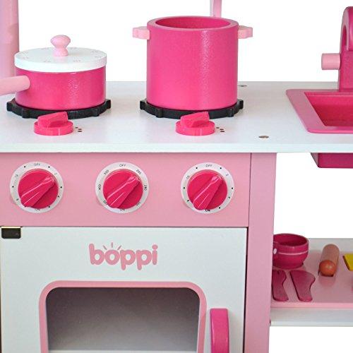 boppi® Küchenspielzeug aus Holz mit Zubehör 19-teilig - 6