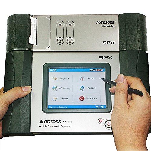 Original SPX Autoboss V30Pro Super Diagnosegerät OBD 2Scanner Update online mit integrierter Mini Drucker