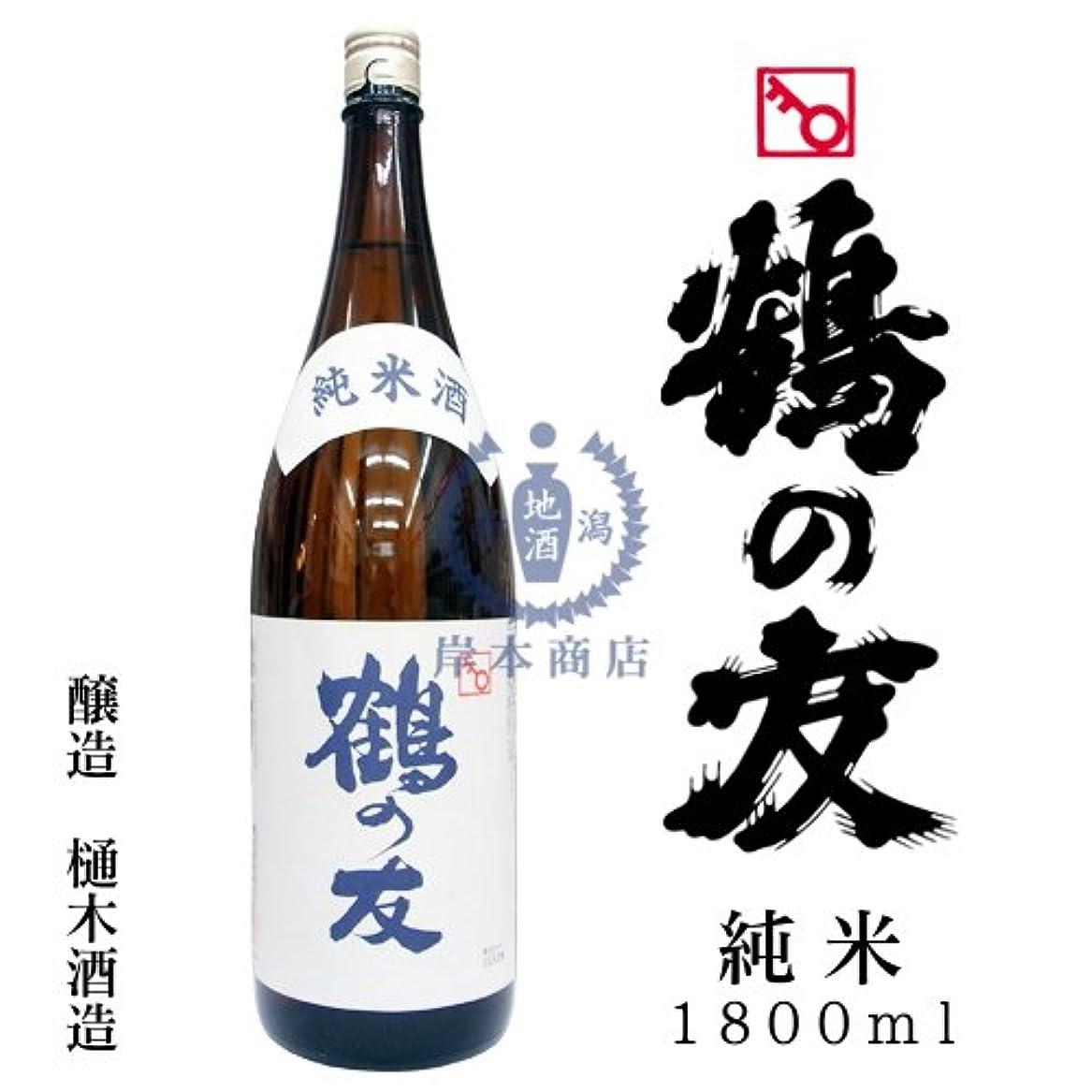 マウント理解接続された鶴の友 純米 1800ml