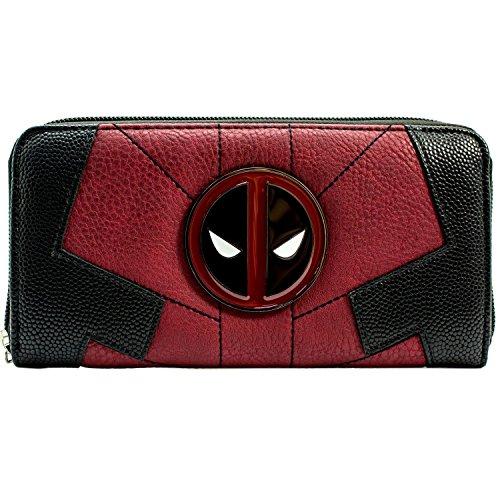 Marvel Deadpool Anti-Hero Suit Up Rot Portemonnaie Geldbörse