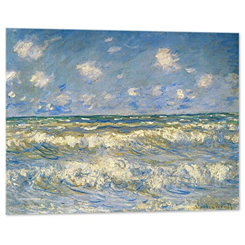 Kuader Segelboote A Honfleur, Claude Monet, 100 x 80 cm