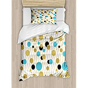 Ambesonne Multicolor Duvet Cover Sets in Colors and Three Sizes