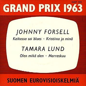 Grand Prix 1963 - Suomen eurovisioiskelmiä