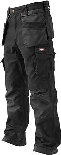 Lee Cooper LCPNT210 Men's Cargo Trouser, Black/Black, Size 40 Regular