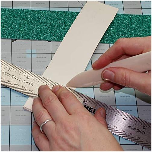 Genuine Bone Folder, VENCINK 8 inch Real Bone Folder Natural Origami Paper Creaser Scoring Folding Tool for Leather…  