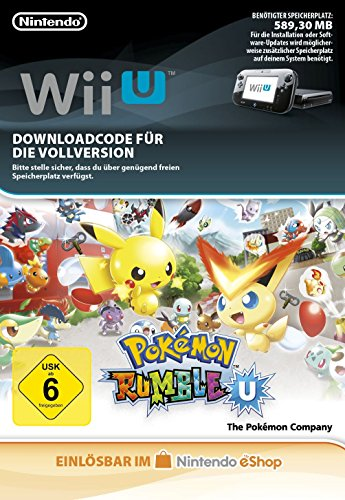 Pokémon Rumble U [Wii U Download Code]