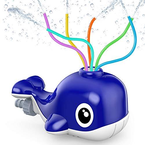 Kiztoys Sprinkler for Kids Water Sprinkler for Kids Garden Water Toys for...