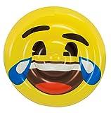 Emoji- Colchoneta Hinchable Cara Llorando de la Risa (Saica 5885)
