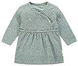 Noppies Baby-Mdchen Kleid Bio-Baumwolle Wickelmodell (Grey Mint (C175), 62)