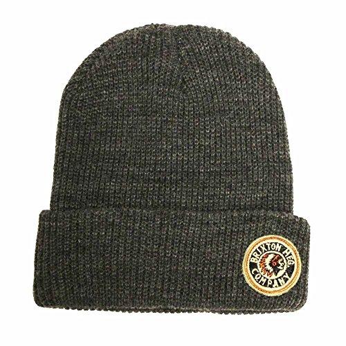 BRIXTON Rival Beanie Hat Grey