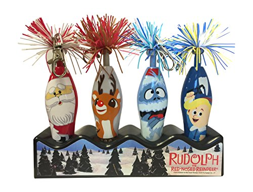 Limited Edition Rudolph The Red Nose Reindeer, Bumble, Santa Kooky Pens Set Christmas