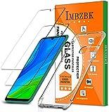 IMBZBK Compatible con【2 Pack】 Protector Pantalla Huawei P Smart 2020, 【Anti-Huella Digital】 【HD Clarity】, con Funda de TPU Transparente para Funda Huawei P Smart 2020 - Transparente
