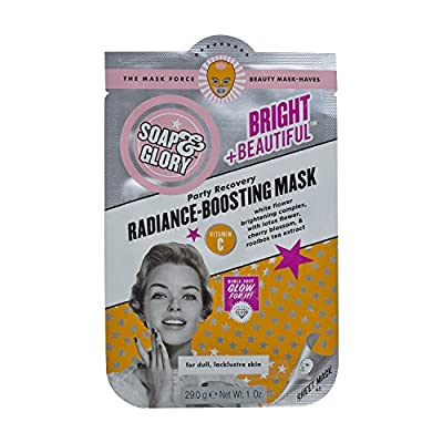 Soap & Glory Bright + Beautiful Radiance - Boosting Mask Vitamin C 29.0g from Soap Glory
