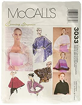 McCall s Patterns M3033 Misses  Evening Cover-Ups