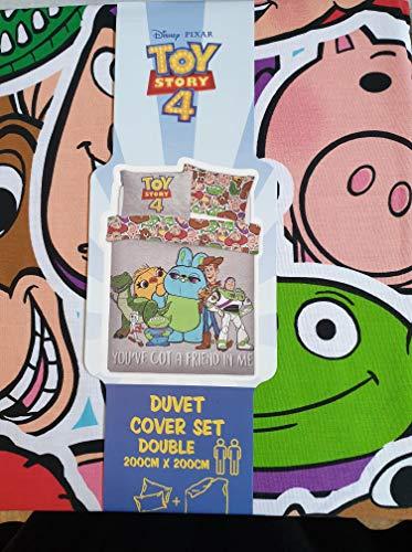 Toy Story 4 Disney Pixar - Juego de cama (funda nórdica de 200 x 200 cm)