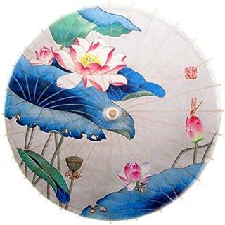 中国風油紙傘チャイナショー小道具日傘、B01