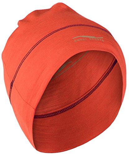 Engel Sports Mütze - wärmend, sportlich, stylisch   GOTS-zertifizierte Funktionswäsche (spicy)