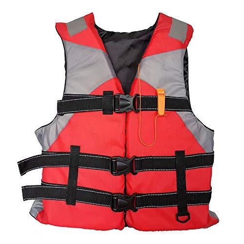 Haihui Sommer Schwimmweste, Auftriebshilfe, Aufprallschutz, Auftriebshilfe, für Erwachsene, Jugendliche, Kinder, Wasserski-Wakeboard-Aufprallweste, Paddelweste