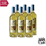Jurançon Moelleux Boléro Blanc 2017 - Domaine Cauhapé - Vin Doux AOC Blanc du Sud-Ouest - Cépage Petit Manseng - Lot de 6x75cl