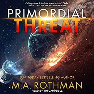 Primordial Threat audiobook cover art