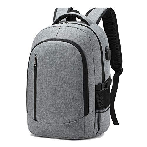 SUEBEKUE Rucksack Herren, Schulrucksack Jungen Teenager mit USB-Ladeanschluss und Kopfhöreranschluss, Schulrucksack für Teenager mit Laptopfach, Laptop Rucksäcke 15Zoll