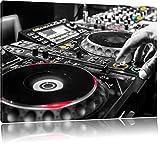 Pixxprint Modern beleuchteter DJ Pult als