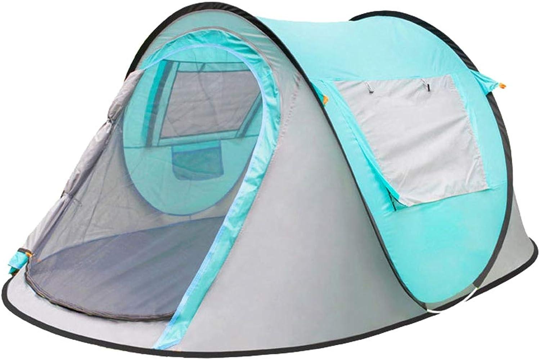 Freahap Pop-Up Tent Instant Set-up Tent 2-4 Person Beach Tent w Bag