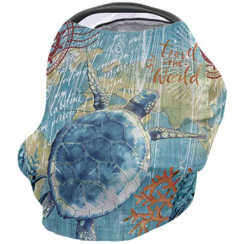 New Nursing Covers for Breastfeeding, Soft Breathable Nursing Cover for Nursing Scarf Carseat Canopy...