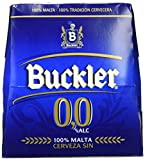 Buckler Cerveza 0,0% - Pack de 6 x 25 cl - Total: 1500 ml