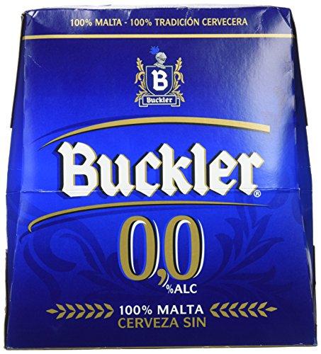 Buckler Beer 0,0% - Pack of 6 x 25 cl - Total: 1500 ml