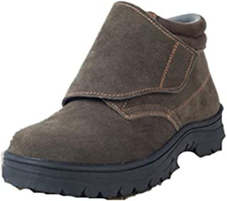 Men's Steel Toe Safety Shoes Breathable Footwear Industrial and Construction