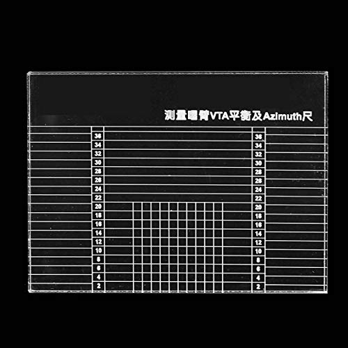 TuToy Lp Vinyl Plattenspieler Mess Azimut Lineal Phono Tonarm Vta Patrone