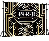 GooEoo 9×6フィートのシームレスな誕生日パーティーのテーマCP絵画布写真の背景コンピュータープリントビニール背景BSK05A