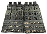 Specialty Defense Systems Triple Magazine Pouch ACU Camouflage, Pack of 10 Military Surplus MOLLE Pouches