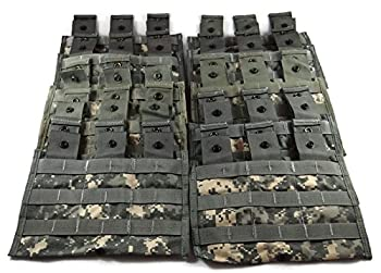 Specialty Defense Systems Triple Magazine Pouch ACU Camouflage Pack of 10 Military Surplus MOLLE Pouches