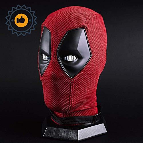 Marvel X-Men Deadpool Vollmaske Helm Film Cosplay Kostüm Zubehör Halloween Maske Helm Für Erwachsene Männer Kostüm Leistung Requisiten,Red Deadpool