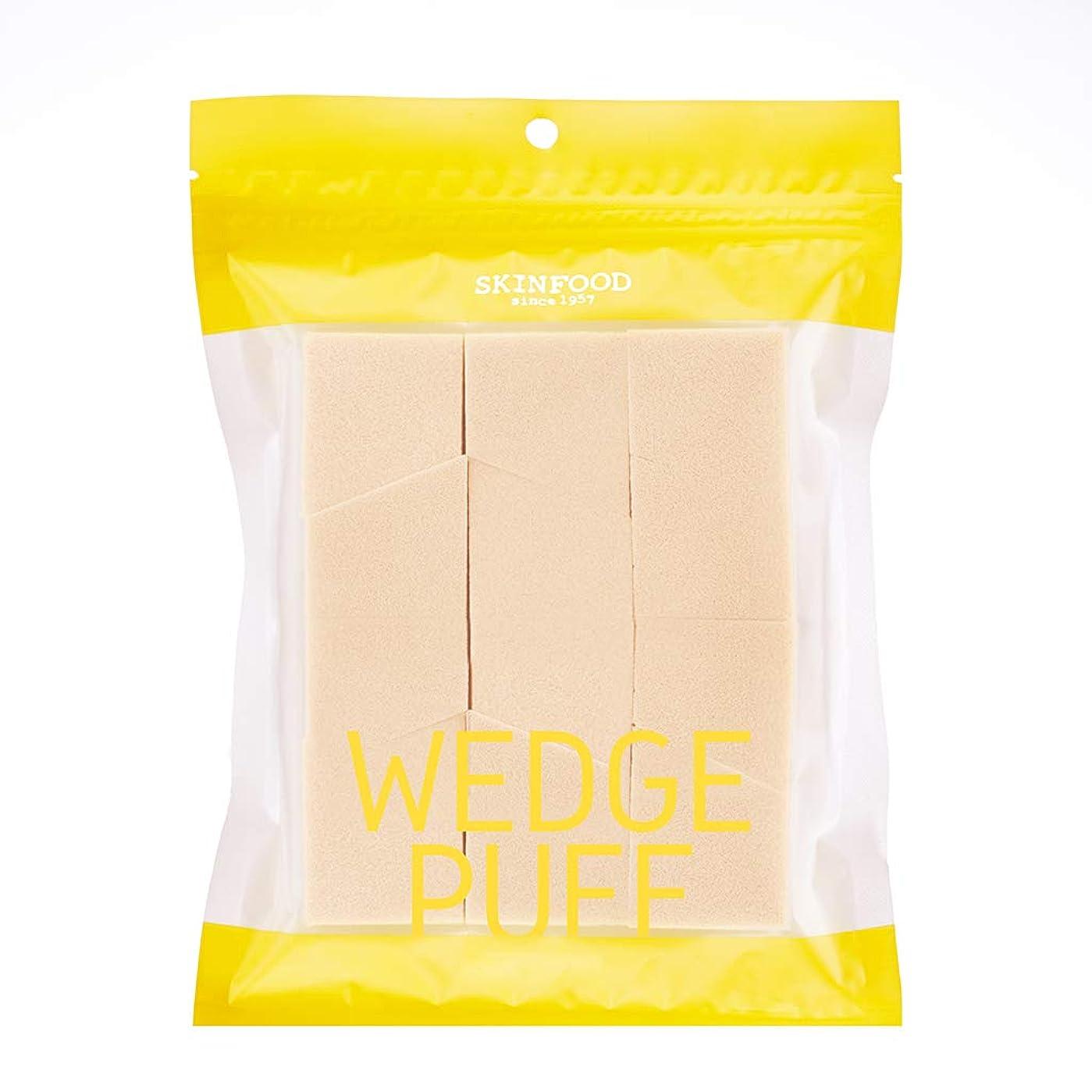 [2016 New] SKINFOOD Wedge Puff Sponge Jumbo Size (12pcs)/スキンフード ウェッジ パフ スポンジ ジャンボサイズ (12個入り)
