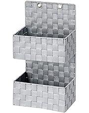 Wenko Adria organizer do zawieszenia kosz łazienkowy, 2 półki, polipropylen, 15,5 x 25 x 48 cm