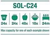 Irrigatia SOL-C24 Bewässerungssystem, Grün